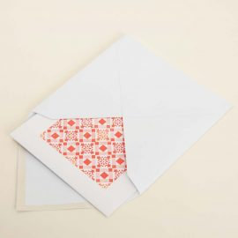 Hand Stamped Card <br>Rua do Pinheiro