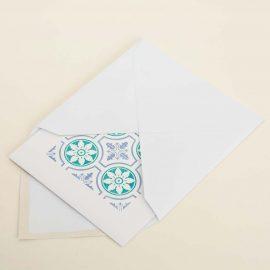 Hand Stamped Card <br>Praça da Alegria