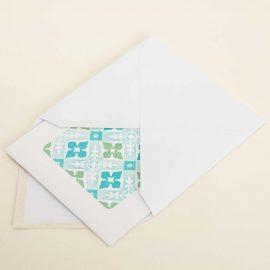 Hand Stamped Card <br>Borda da Asseca