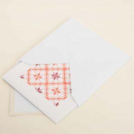 Hand Stamped Card <br>Café Ossónoba em Estoi