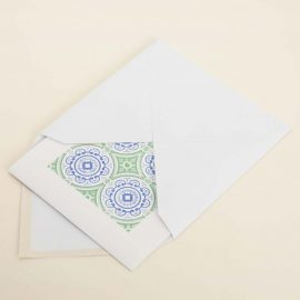 Hand Stamped Card <br>Casa Jantar em Faro