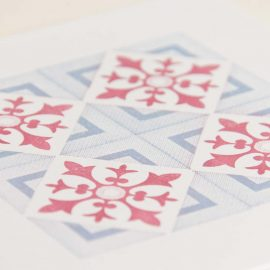 Hand Stamped Card <br>Museu do Traje