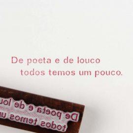 Art Stamp <br>De Poeta e de Louco