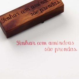 Art Stamp <br>Sonhar com Amêndoas