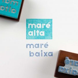 2 Art Stamps <br>Maré Alta | Maré Baixa